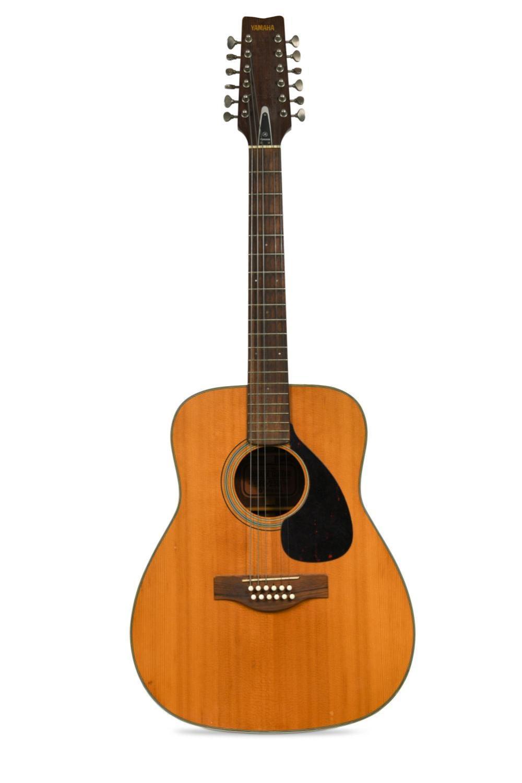 Roger 'Syd' Barrett's Yamaha FG-230 Acoustic 12-string guitar, serial No. 1090448,