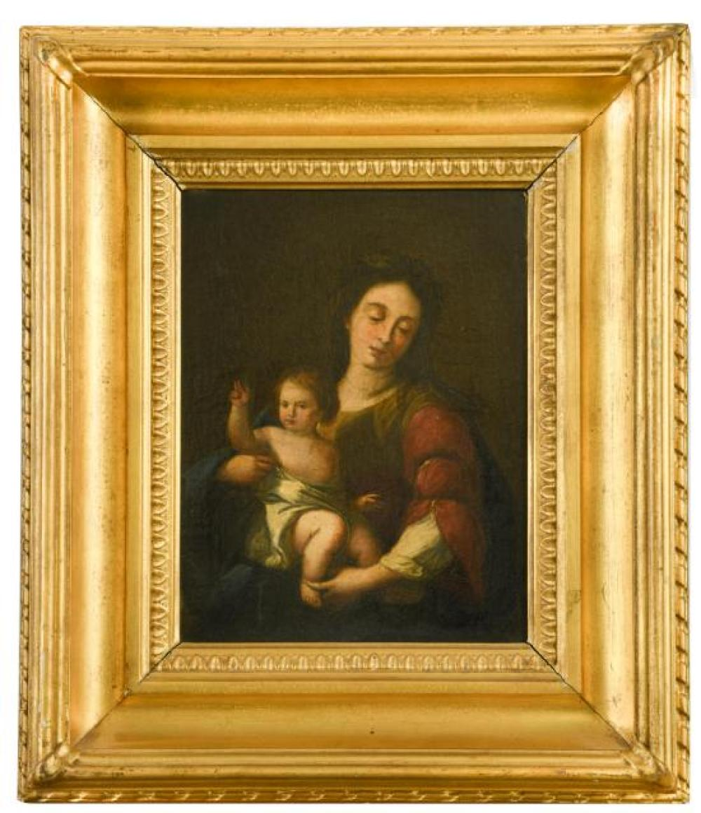 Italian School, 19th Century The Madonna and Child