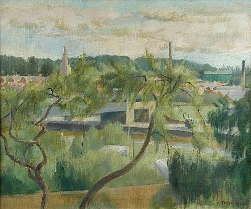 William Townsend (British, 1909-1973) Green View