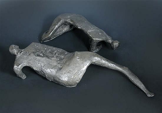 Austin Wright (British, 1911-1997), Adam and Eve,