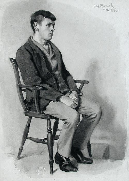 Henry Matthew Brock (British, 1875-1960) Studies