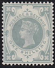 1s, dull green, unmounted mint,