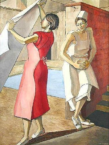 Rachel Reckitt (British, 1908-1995) Wash Day,