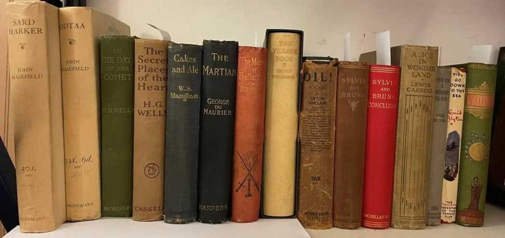 STEVENSON (R. L.) The Master of Ballantrae, first edition 1889, Cassell & Co, 8vo, adverts at end, slightly cocked, original cloth; WELLS (Herbert George) In the Days of the Comet, first edition, 1906, 8vo, original cloth; idem - The Secret...