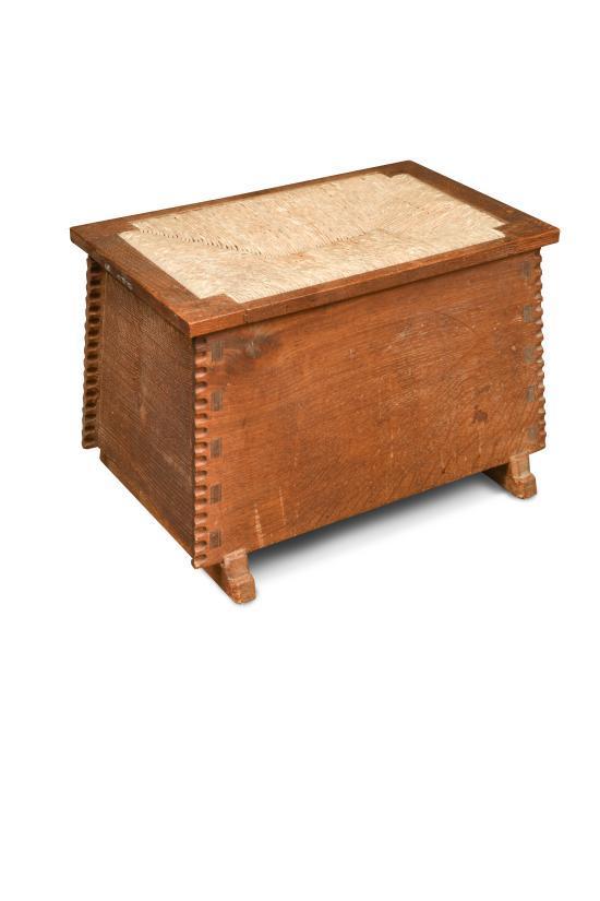 Pleasing A Cotswold School Oak Ottoman Or Shoe Box Alphanode Cool Chair Designs And Ideas Alphanodeonline