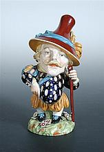 A Royal Worcester Mansion House dwarf, dated 1877,