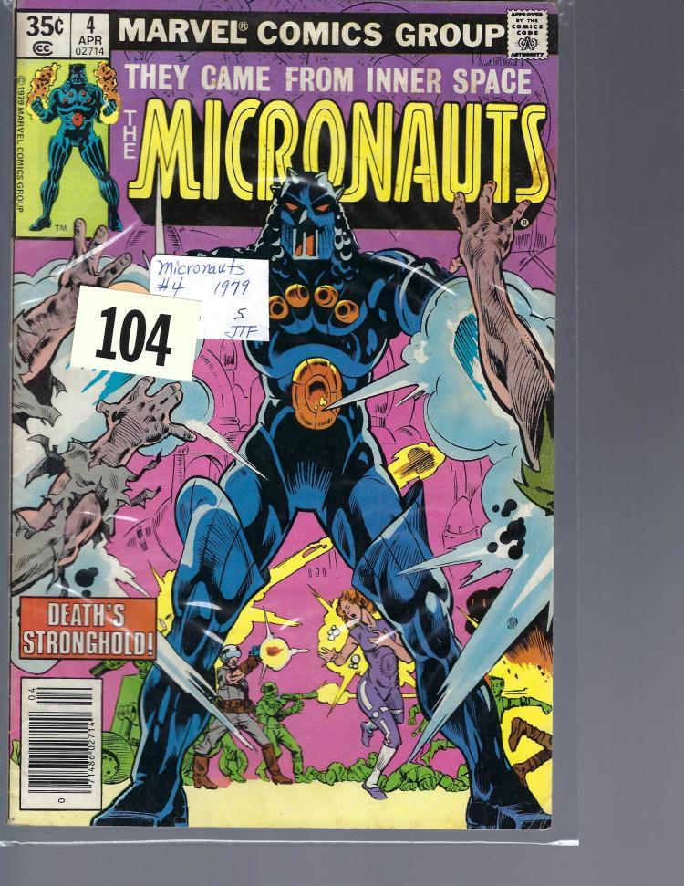 #4 Micronauts