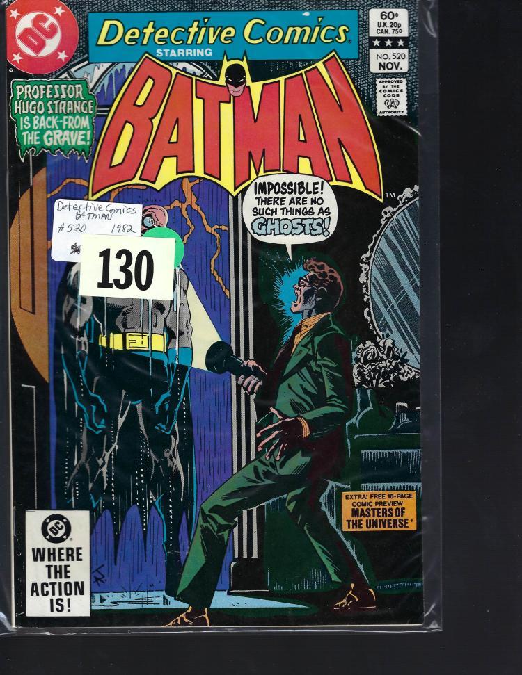 #520 Detective Comics Batman