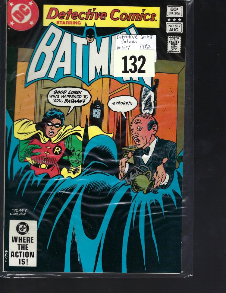 #517 Detective Comics Batman