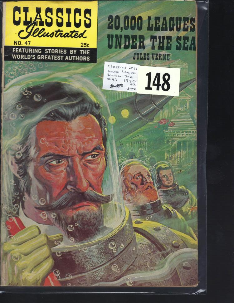 #47 Classic Illustrated 20,000 Leagues Under the Sea