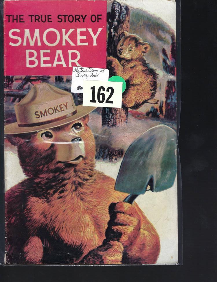 The True Story of Smokey Bear Comic Book