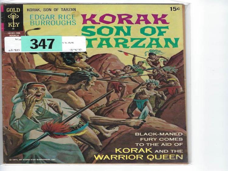 # 40 Korak Son of Tarvan