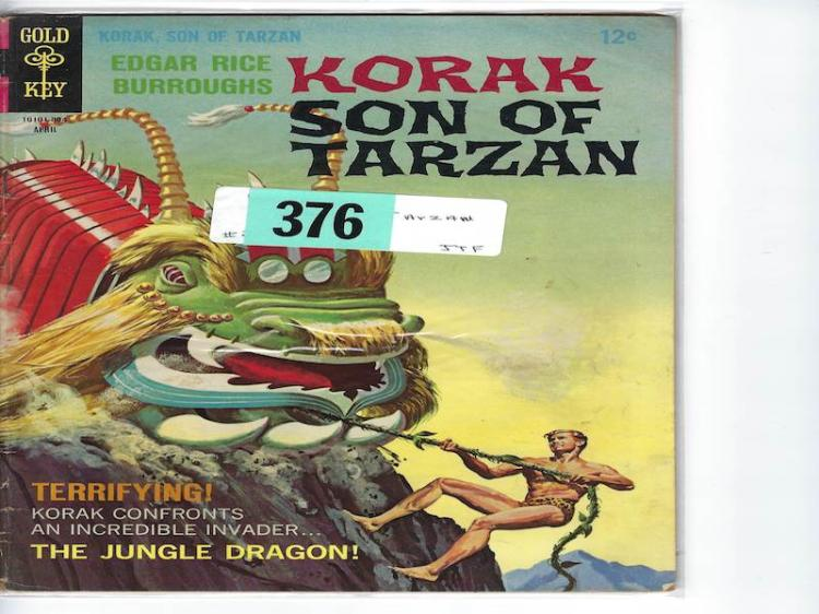 # 22 Korak Son of Tarzan Comic Book