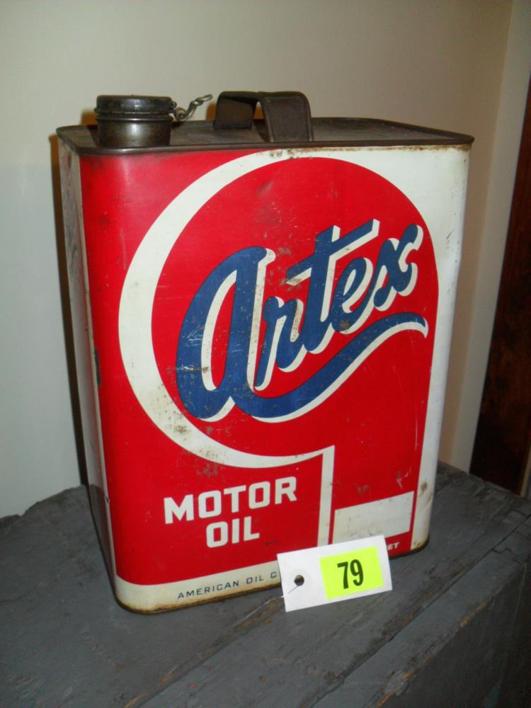 Artex 2 gallon motor oil can for Gallon of motor oil
