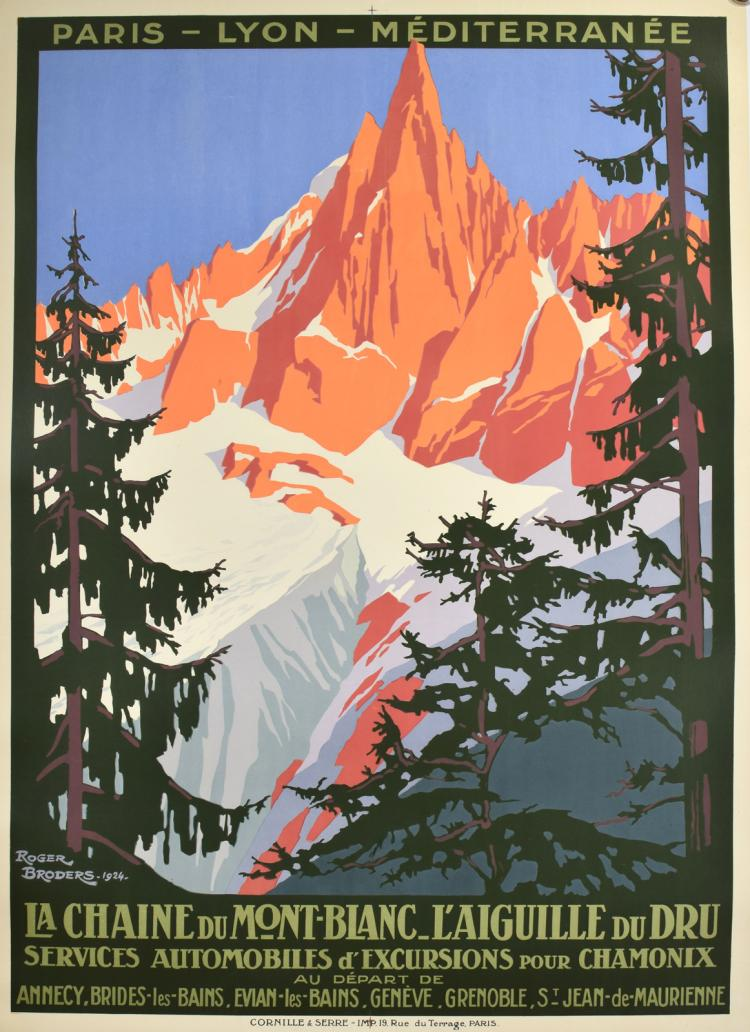 Le Chain Du Mont Blanc