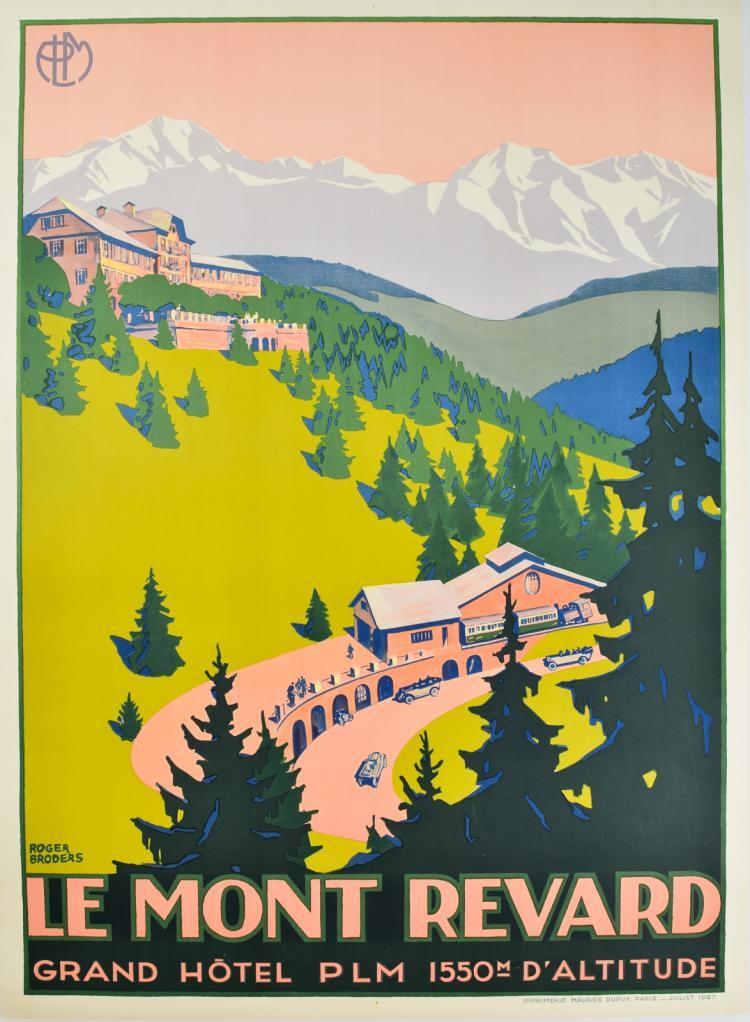 Le Mont Revard Summer