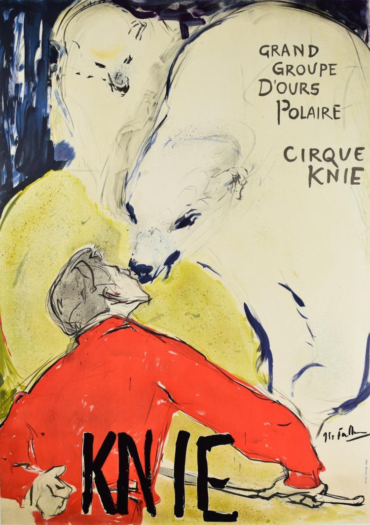 Circus Knie Bear