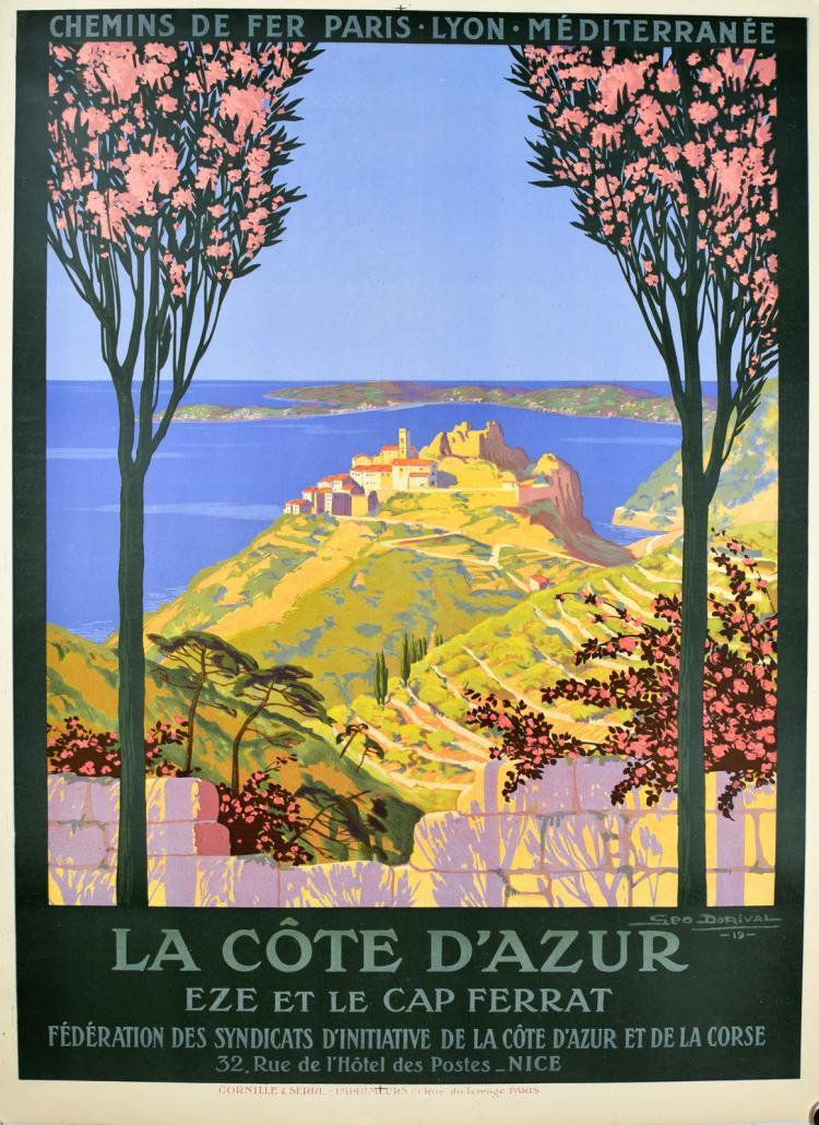 La Cote d'Azur Eze