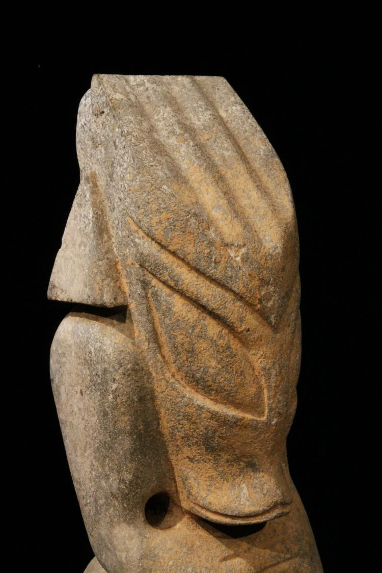 Massive hongshan culture stone carving of alien hybrid