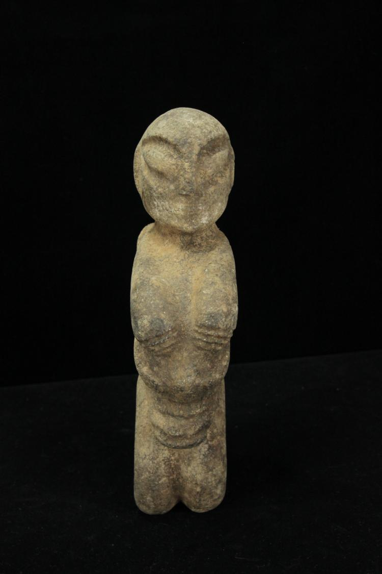 Hongshan period stone carved alien animal hydrid