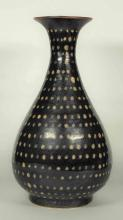 Jizhou Yuhuchun Vase with Dotted Design, Southern Song Dynasty.