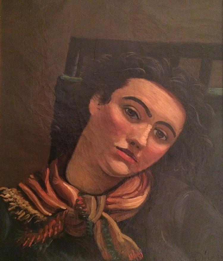 Andre Derain, Portrait de femme au foulard, c. 1934-1939
