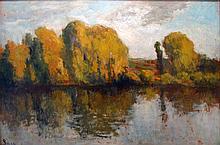 Maximilien Luce, River Droite de la Seine, Rolleboise, c. 1921