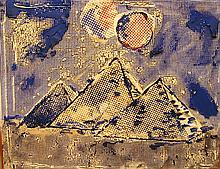 Judy Rifka, Pyramids, 1983