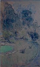 Edouard Vuillard, Le Bord de l'etang, 1930