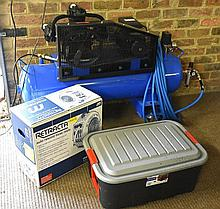 A Peerless 'new generation' air compressor and accessories