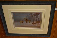 An original cell from a Walt Disney production 'The Prince and the Pauper',