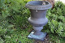 A good large outdoor garden urn.