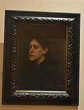 George James Coates. A fine Australian oil on board depicting the portrait