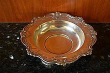 A large Gorham Sterling Silver bowl.