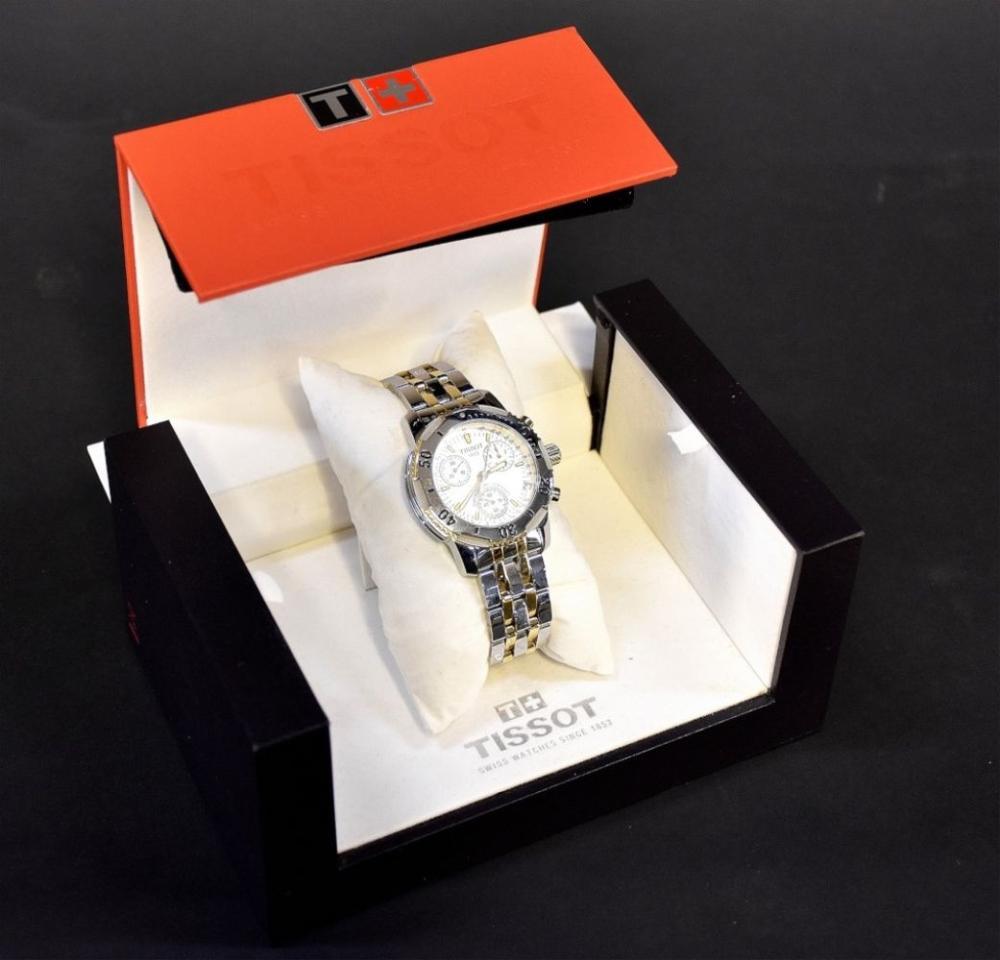 Tissot wristwatch in presentation box…