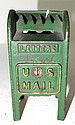 Hubley Cast Iron Mailbox on Legs 4
