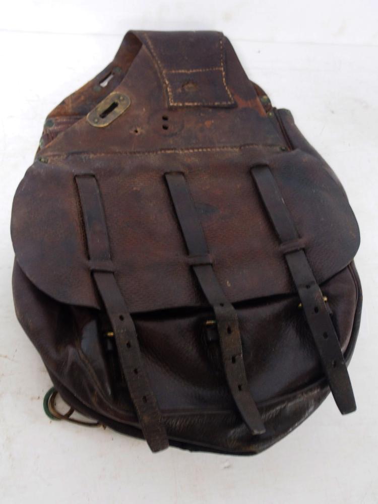 leather u s saddle bags