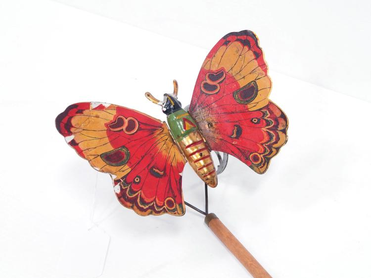 Gibbs Mfg. Butterfly Push Toy