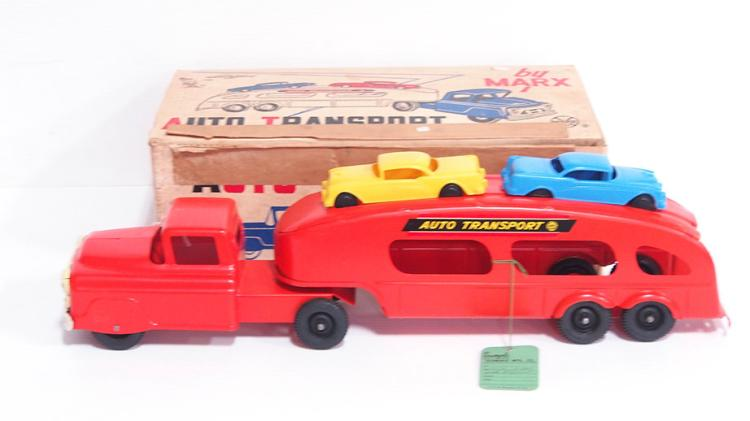 Marx Auto Transport Set