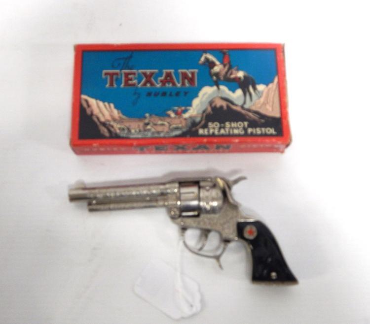 Hubley Texan Cap Pistol