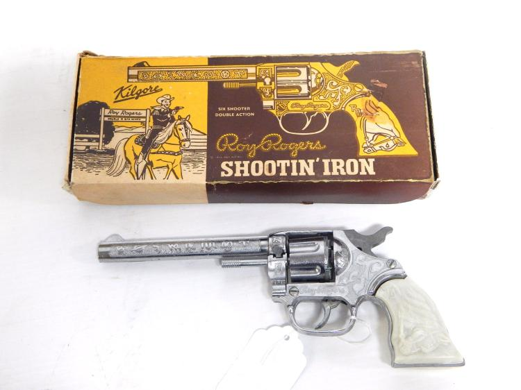 Unfired Roy Rogers Cap Pistol