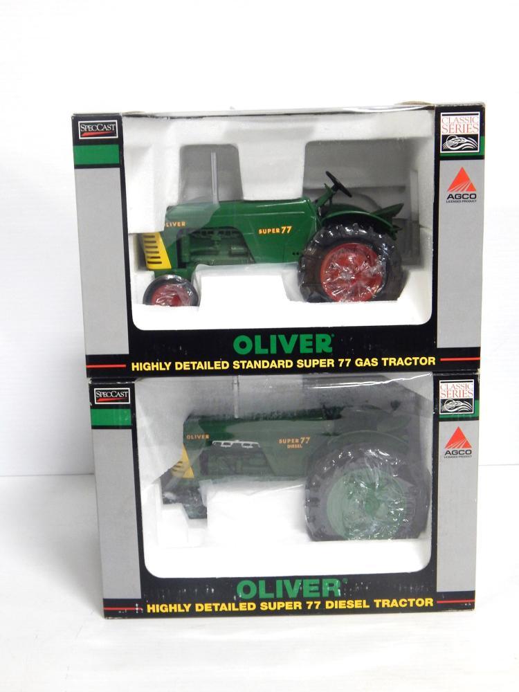 (2) 1:16 Oliver Super 77's