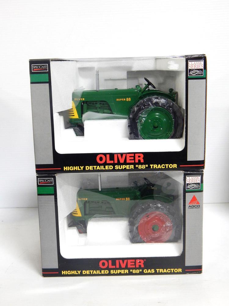 (2) 1:16 Oliver Super 88's