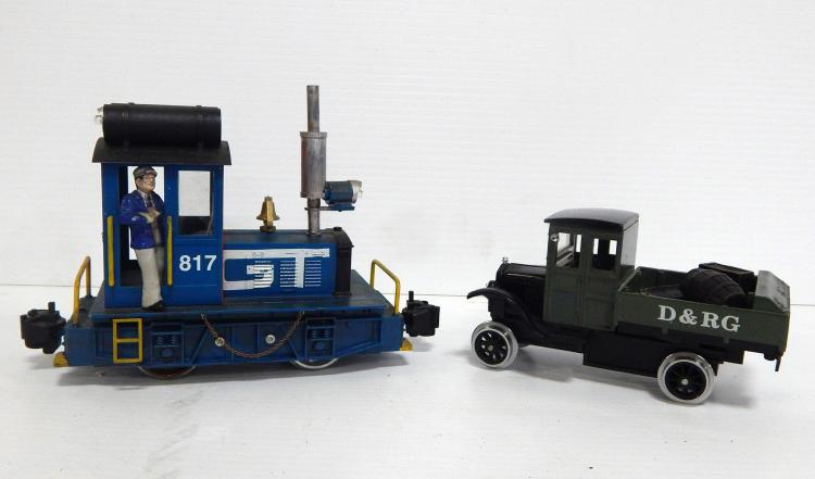 G-Scale Switch Engine & Truck