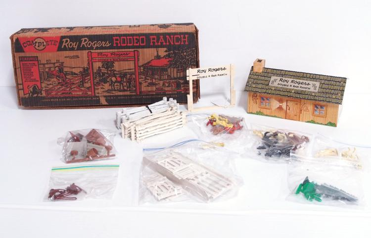 Marx Roy Rogers Ranch Set