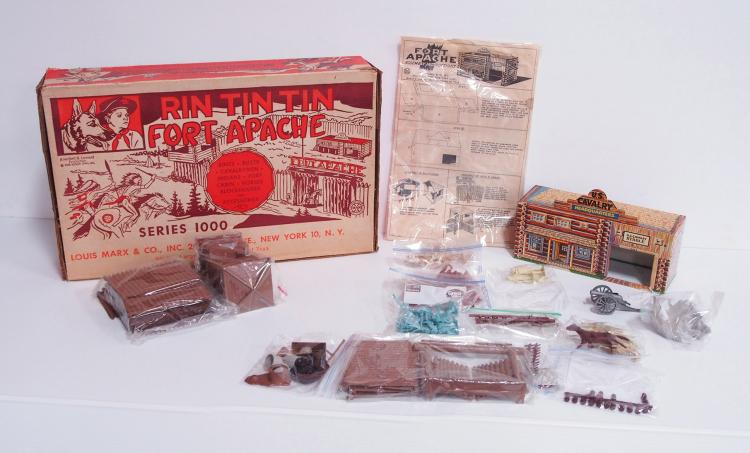 Marx Rin-Tin-Tin Set