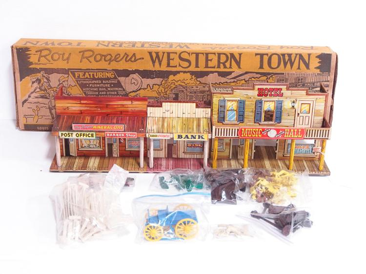 Marx Roy Rogers Town Set