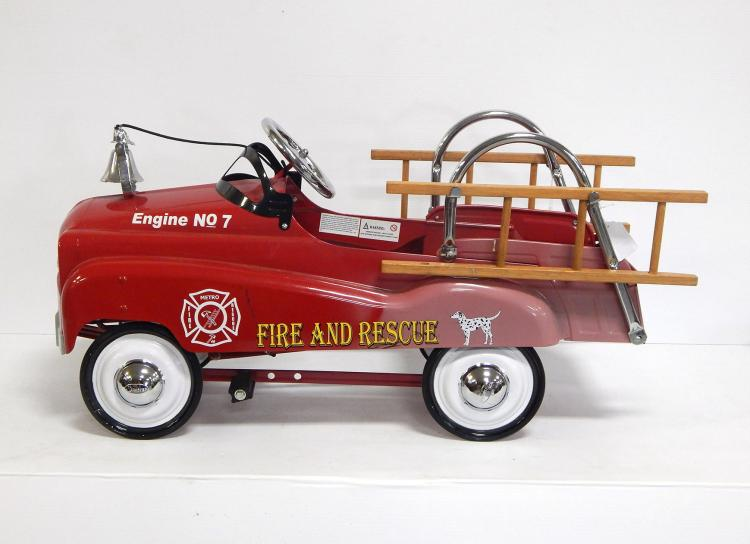 Instep Pedal Fire Truck