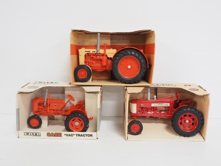 (3) NIB 1:16 Ertl Tractors