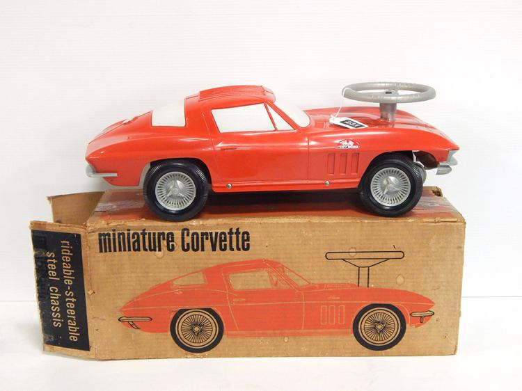 1966 Corvette Sit & Ride Toy